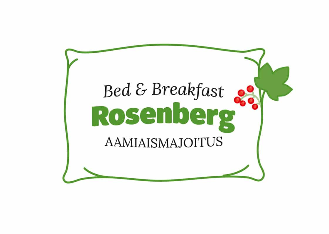 Rosenberg Bed and Breakfast logo design